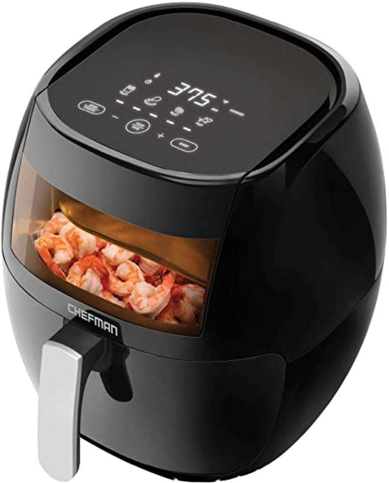 ihocon: Chefman TurboFry Touch 8 Quart Air Fryer 氣炸鍋