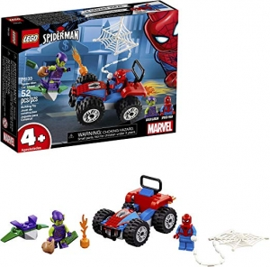 ihocon: LEGO Marvel Spider-Man Car Chase 76133 Building Kit(52 Pieces) 樂高漫威蜘蛛俠