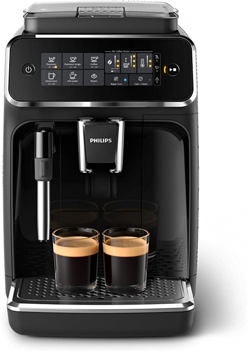 ihocon: Philips 3200 Series Fully Automatic Espresso Machine w/ Milk Frother飛利浦3200系列全自動咖啡機帶奶泡器