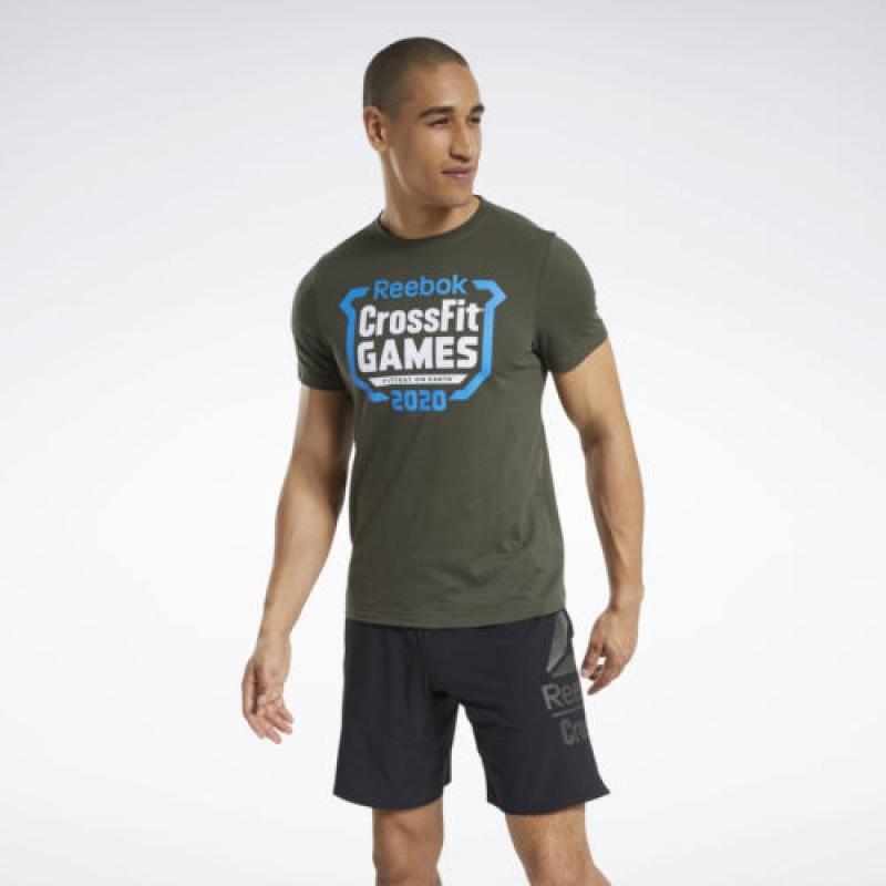 ihocon: Reebok Men's CrossFit® Games Crest Tee 男士短袖衫