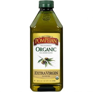 ihocon: Pompeian Organic Extra Virgin Olive Oil - 48 Ounce有機特級初榨橄欖油