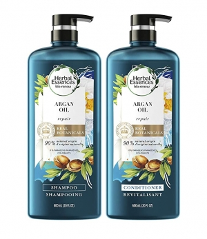 ihocon: Herbal Essences Repairing Argan Oil Of Morocco Shampoo and Conditioner set, 20.2 fl oz 洗髮精和護髮乳