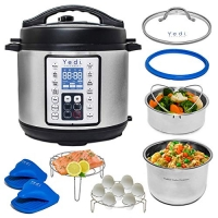 ihocon: Yedi 9-in-1 Total Package Instant Programmable Pressure Cooker 電壓力鍋含配件