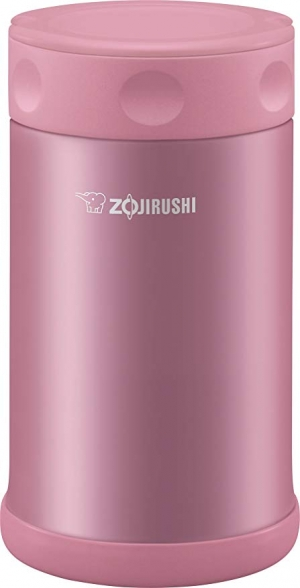 ihocon: Zojirushi 象印Stainless Steel Food Jar 25 oz. / 0.75 Liter, Shiny Pink 不銹鋼保温食品罐