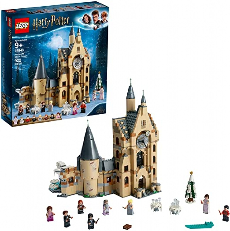 ihocon: 樂高哈利·波特LEGO Harry Potter Hogwarts Clock Tower 75948 Build and Play Tower Set with Harry Potter Minifigures(922 Pieces)霍格沃茨鐘樓