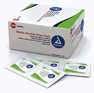 ihocon: Dynarex Alcohol Prep Pads - 200/Box - Medium 酒精消毒片