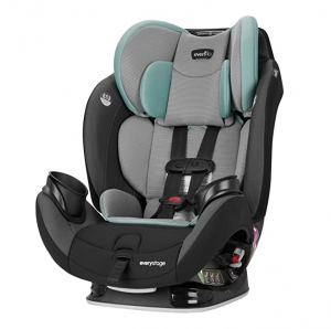 ihocon: Evenflo EveryStage LX All-in-One Car Seat, Convertible Baby Seat/Booster Seat, Grows with Child Up to 120 lbs 多合一汽車安全座椅