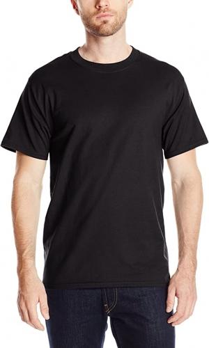 ihocon: Hanes Men's Short Sleeve Beefy-t 100% Cotton 純棉男士短袖衫