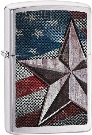 ihocon: Zippo American Flag Lighters 美國國旗打火機