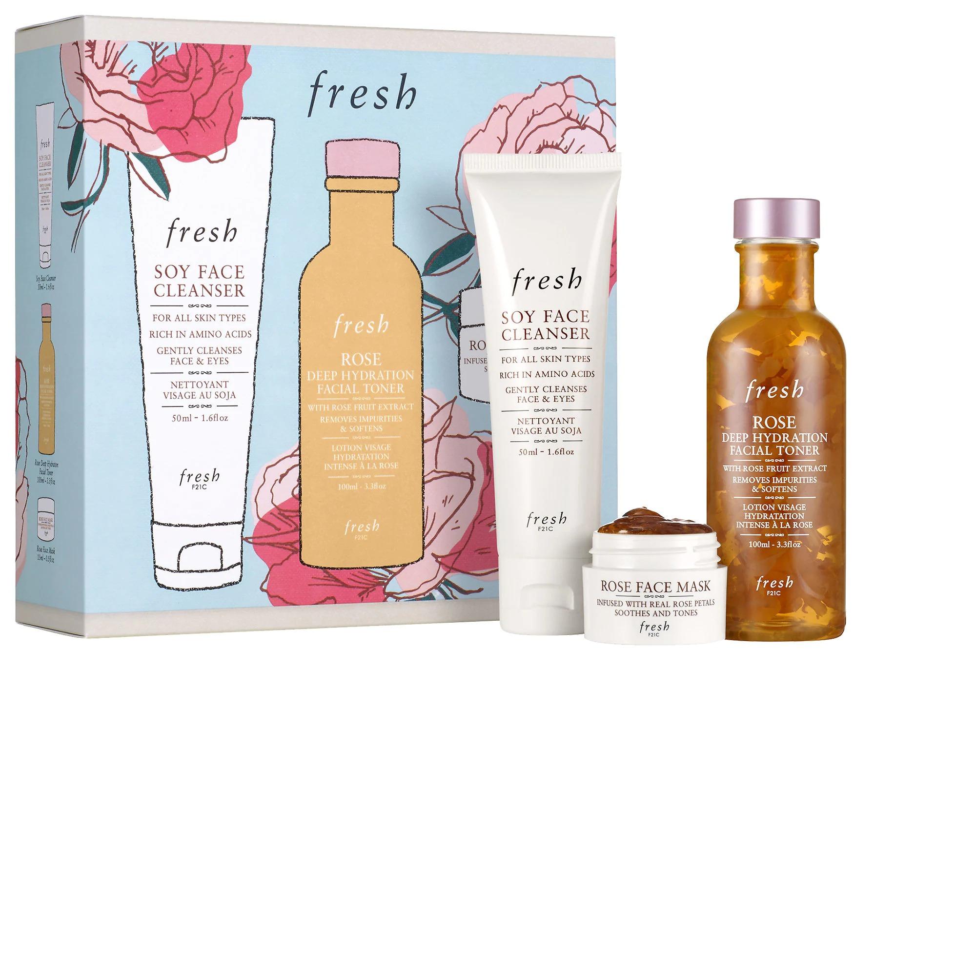 ihocon: freshCleanse & Hydrate Gift Set 保養套裝