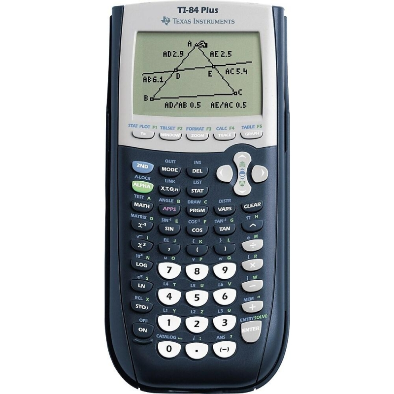 ihocon: Texas Instruments TI-84 Plus Graphing Calculator, 10-Digit LCD 德州儀器繪圖計算機