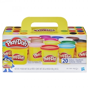 ihocon: Play-Doh Super Color 20-Pack with 20 Colors, 60oz 兒童黏土