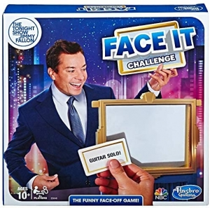 ihocon: 派對遊戲 - Hasbro Gaming The Tonight Show Starring Jimmy Fallon Face It Challenge Party Game