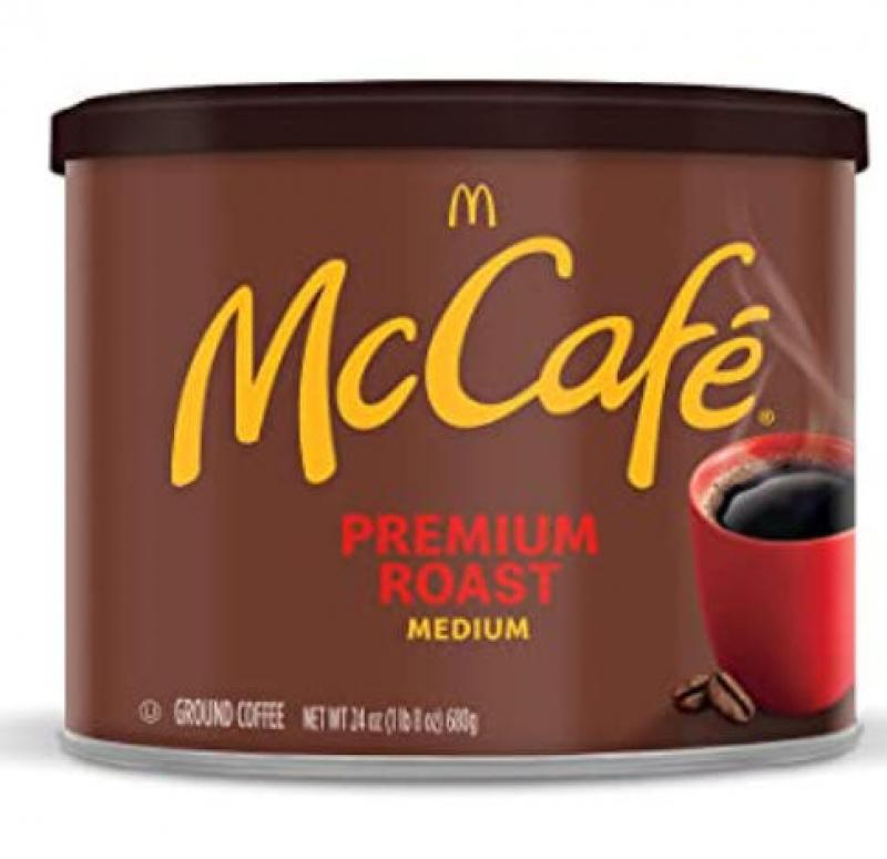 ihocon: McDonalds McCafe Premium Medium Roast Ground Coffee (24 oz Canister)麥當勞咖啡粉