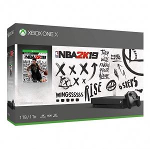 Xbox One X 1TB主機 + NBA 2K19遊戲 $339免運