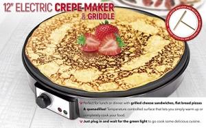 ihocon: Aholicdeals 12-inch Electric Crepe Maker可麗餅機