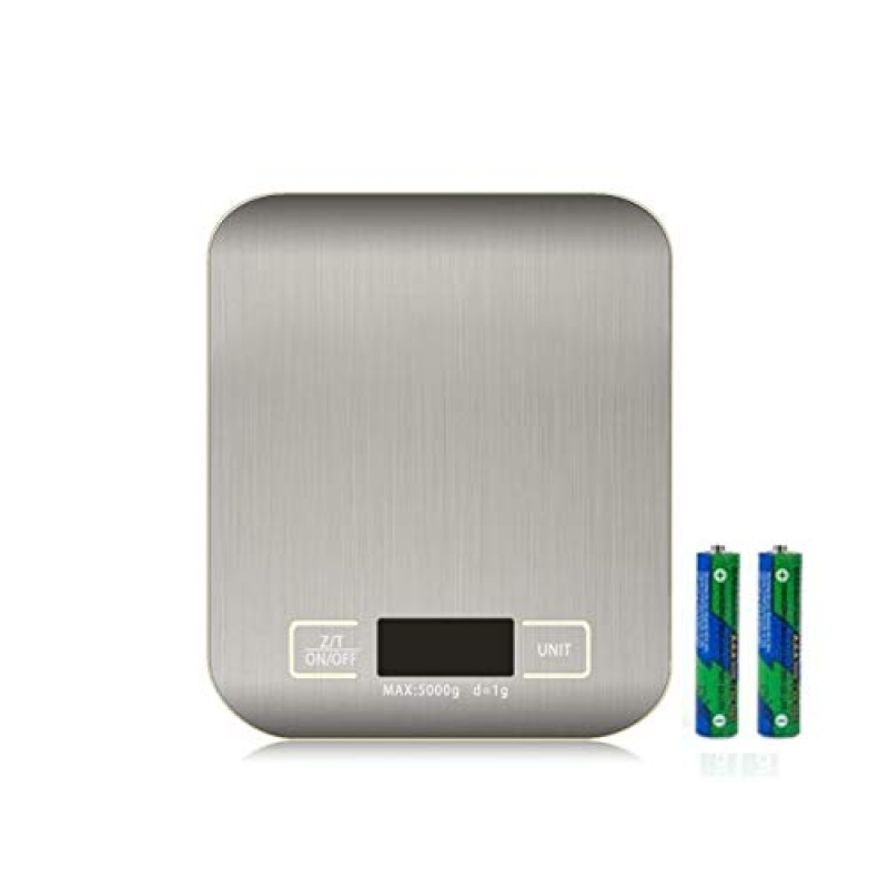 ihocon: RKINC Digital Kitchen Scale, Up 11 lb(1g-5KG)(include AAA Battery) 廚用電子秤(含電池)
