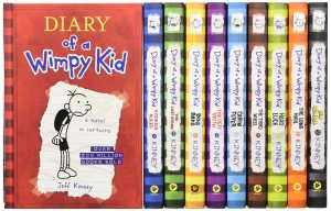 ihocon: Diary of a Wimpy Kid Box of Books (Books 1-10)