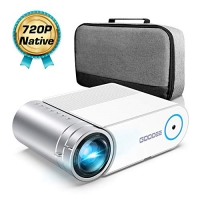 ihocon: GooDee G500 HD Video Projector 4000 Lux Mini Projector家庭劇院小型投影機