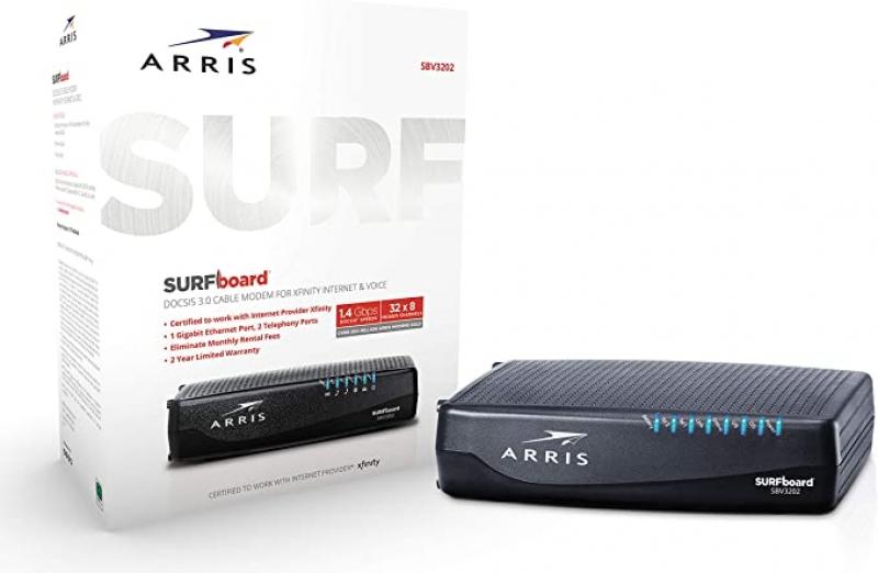 ihocon: Arris Surfboard 32 x 8 DOCSIS 3.0 Voice Cable Modem