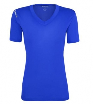 ihocon: Reebok Women's Volt V-Neck Performance T-Shirt