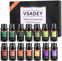 ihocon: VSADEY Essential Oils Set 100% Pure, 14 X 10ml精油禮盒