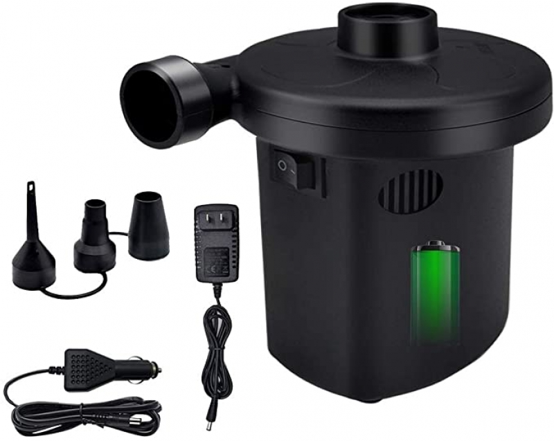 ihocon: HEETHYCOOL Electric Air Pump for Inflatable Rechargeable Air Pump 電動打氣機