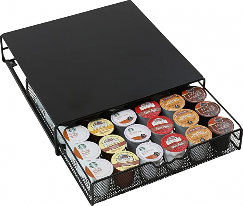 ihocon: DecoBros K-cup Storage Drawer Holder for Keurig K-cup Coffee Pods 膠囊咖啡收妠抽屜