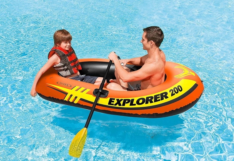 ihocon: Intex Explorer Inflatable Boat Series  充氣船