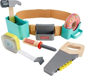 Fisher-Price DIY Tool Belt 玩具工具腰帶 $9.99(原價$19.99)