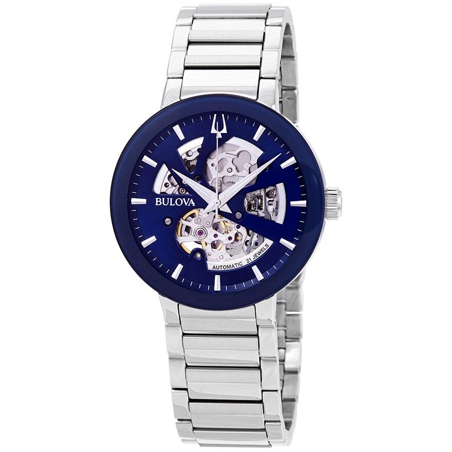 ihocon: Bulova Modern Automatic Blue Dial Men's Watch 寶路華男錶
