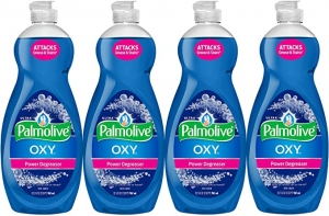 ihocon: Palmolive Ultra Dish Soap Oxy Power Degreaser, 32.5 oz - 4 Pack 洗碗精