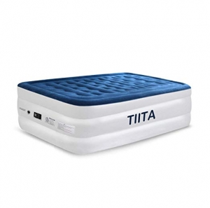 ihocon: Tiita Twin Air Mattress with Built-in Pump, 3-Year Warranty 內建充氣幫浦單人空氣床