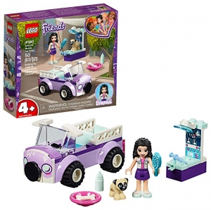 ihocon: [2019新品] LEGO Friends Emma's Mobile Vet Clinic 41360 Building Kit , New 2019 (50 Piece)