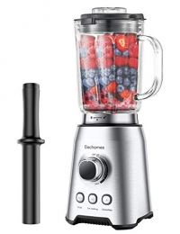 ihocon: Elechomes Professional Blender for Shakes and Smoothies冰沙果汁機
