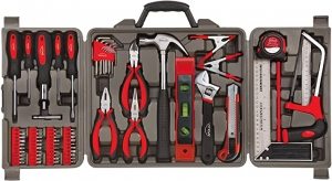 ihocon: Apollo Tools DT0204 71 Piece Household Tool Kit with Most Reached for Hand Tools in Storage Case  家用工具組