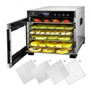 ihocon: ChefWave Secco Pro Food Dehydrator with 6 Drying Racks 不銹鋼六層食品乾燥機/乾果機