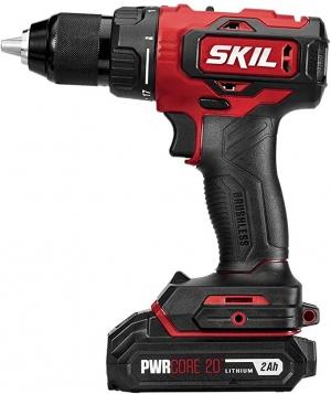 ihocon: Skil PWRCore 20 Brushless 20V 1/2 Inch Drill Driver 無線電鑽, 含電池及充電器