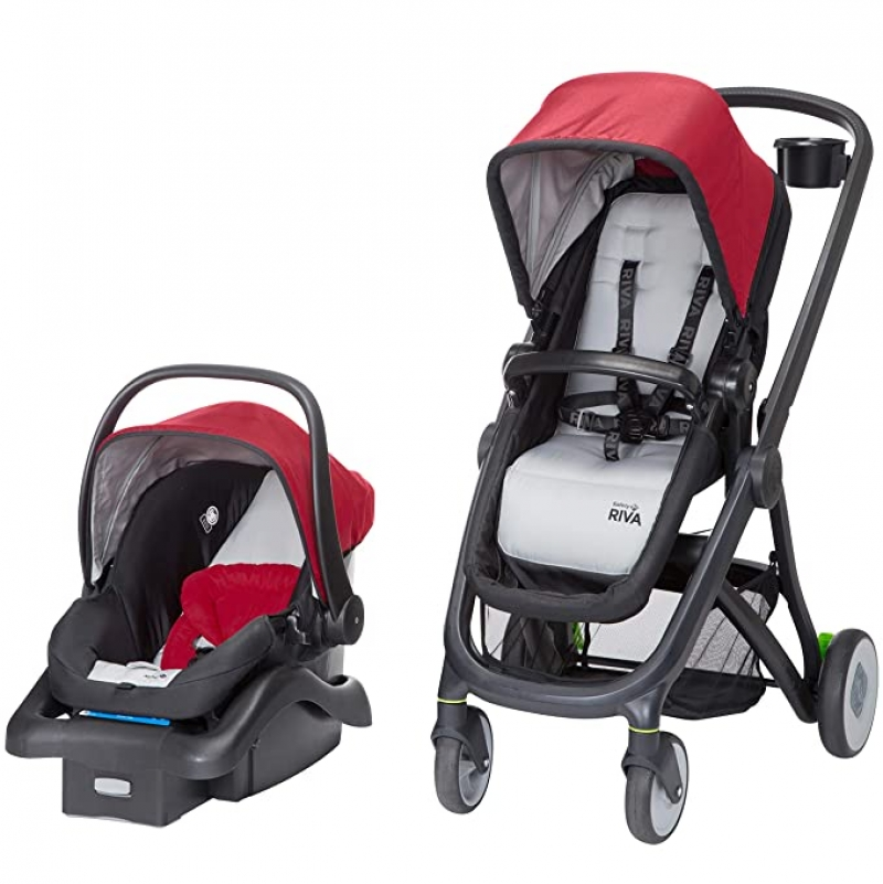 ihocon: Safety 1st Riva 6 in 1 Flex Modular Travel System with Onboard 35 FLX Infant Car Seat and Base嬰兒推車及汽車座椅