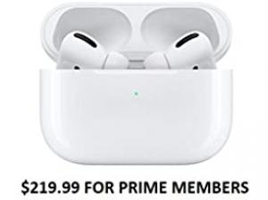[今日特賣] Apple AirPods Pro 無線耳機 $219.99 (原價$249.99)