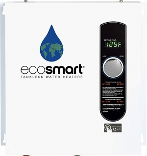 ihocon: EcoSmart ECO 27 Electric Tankless Water Heater, 27 KW at 240 Volts, 112.5 Amps with Patented Self Modulating Technology   無水箱電熱水器