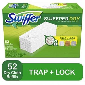 ihocon: Swiffer Sweeper Dry Mop Refills, 52 Count 乾拖地巾