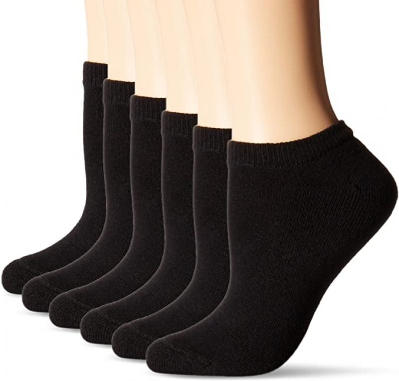 ihocon: Hanes Women's ComfortBlend 女襪6雙