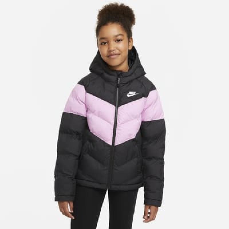 ihocon: Nike Sportswear Big Kids' Synthetic-Fill Jacket女童連帽夾克-多色可選