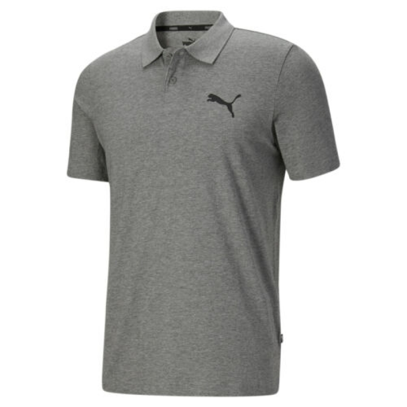 ihocon: PUMA Men's Essentials Jersey Polo 男士短袖-多色可選