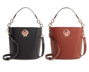 ihocon: KATE SPADE NEW YORK suzy small leather bucket bag 水桶包