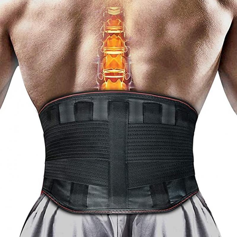ihocon: Tuboot Lower Back Brace Lumbar Posture Corrector背部支撐護腰帶
