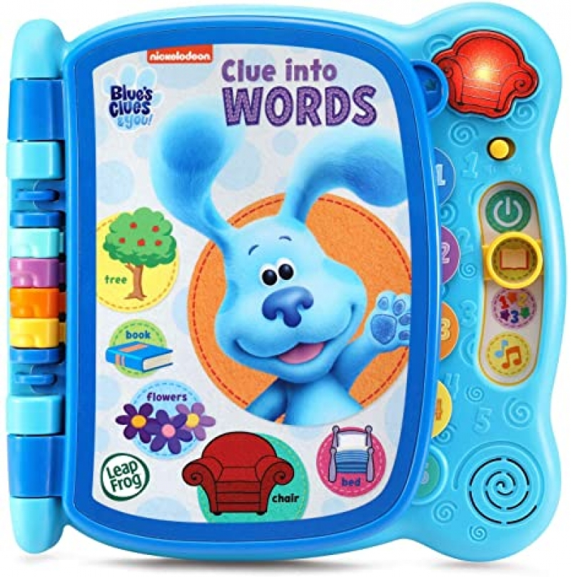 ihocon: LeapFrog Blue's Clues and You! Clue Into Words
