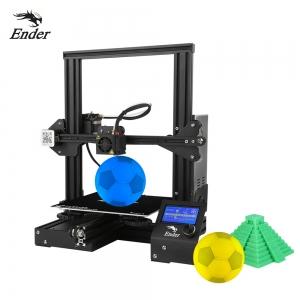 ihocon: Creality 3D Ender-3 High-precision DIY 3D Printer Self-assemble 220 * 220 * 250mm Printing Size 3D立體印表機/打印機