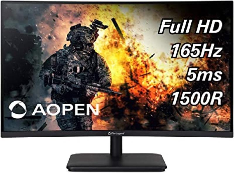 ihocon: Aopen 27HC5R Pbiipx 27 Curved Widescreen Full HD 1080p 144Hz VA LED AMD FreeSync Gaming Monitor 曲型全高清遊戲電腦螢幕
